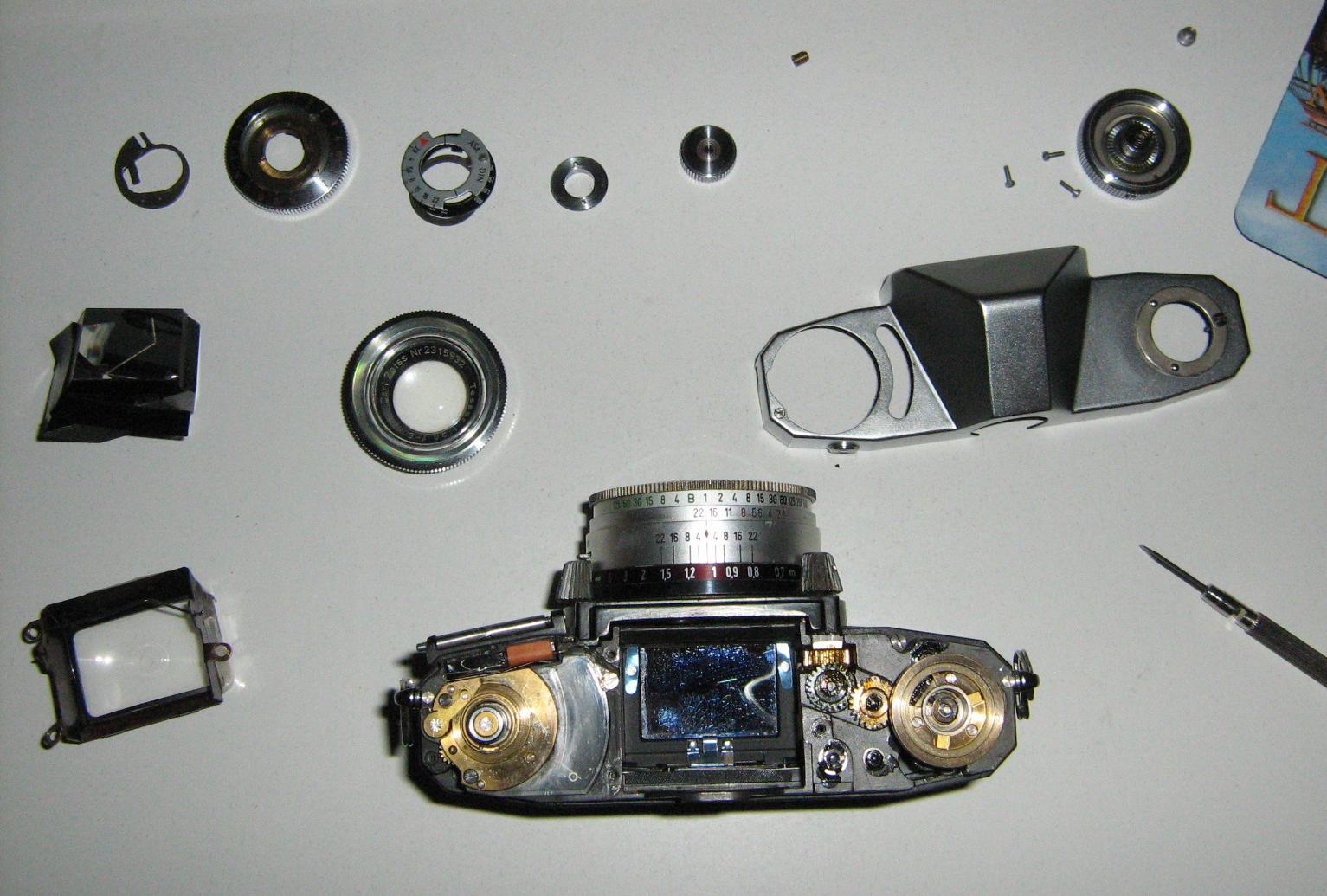 Zeiss-Ikon Contaflex IV | Analoge Fotokameras, Objektive