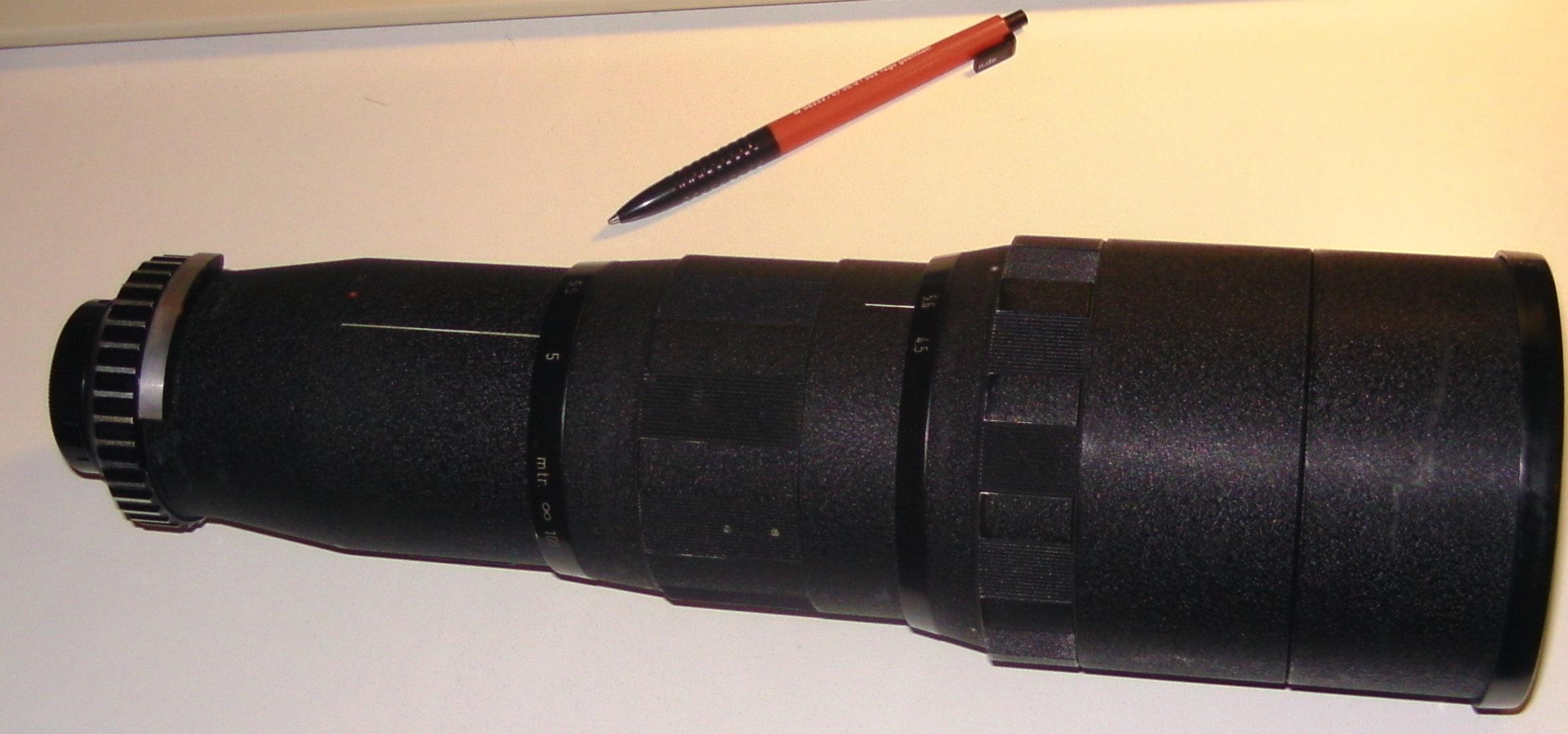 Enna Tele-Ennalyt 4,5/400mm | Analoge Fotokameras, Objektive ...