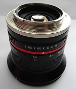 Samyang Superweitwinkel f. e-mount 1:2  / 12mm