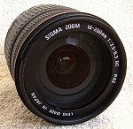 Sigma Zoom 18-200mm APS-C f. Pentax-K